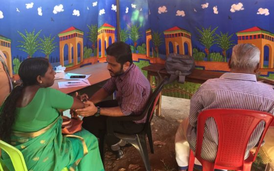 Medical Campaign conducted at Peruvanthanam on 29th Dec 2017