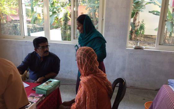 Mega medical camp conducted at Kottayam on 14th Jan 2018