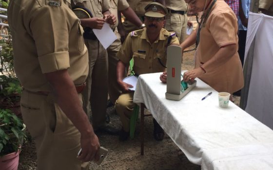 Free Medical Camp for Pala Sub Division Police Officers In Association with Kerala Police Association